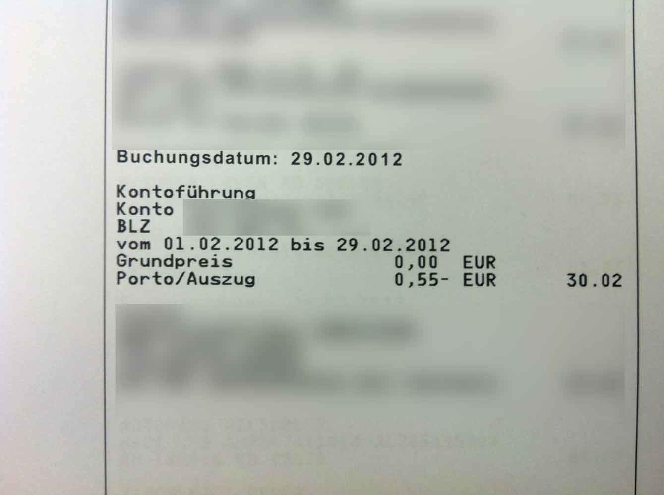 KontogebГјhren Commerzbank