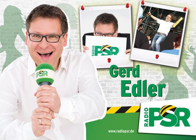 Autogrammkarte Gerd Edler