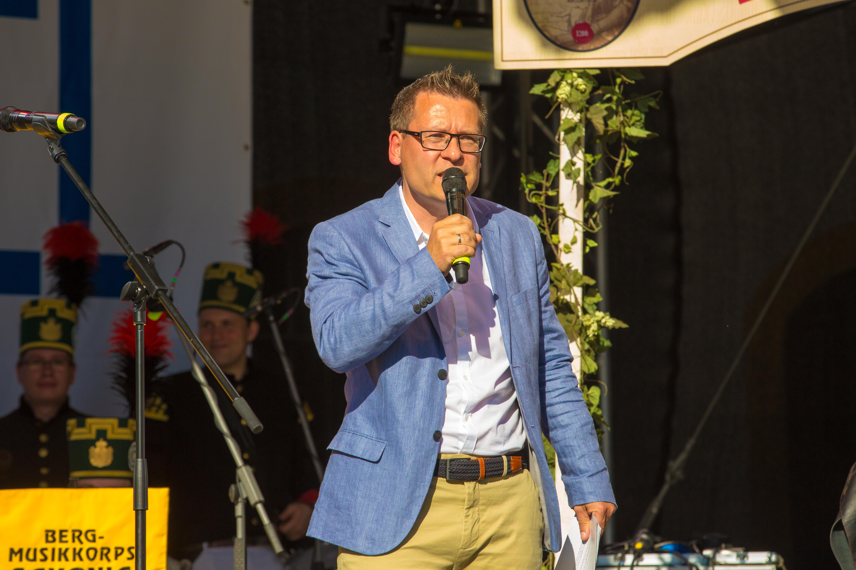 Event Moderator Gerd Edler Bergstadtfest Freiberg